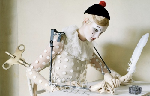 Mechanical dolls by Tim Walker and Rhea Thierstein | Ship-Shape and Bristol Fashion