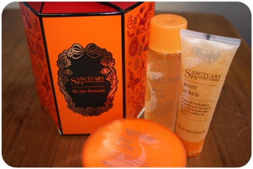 Sanctuary Spa goodies from Boots | Ship-Shape and Bristol Fashion