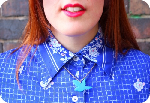 The Cutworks bird necklace | Ship-Shape and Bristol Fashion