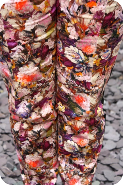 Topshop skinny fit floral trousers | Ship-Shape and Bristol Fashion