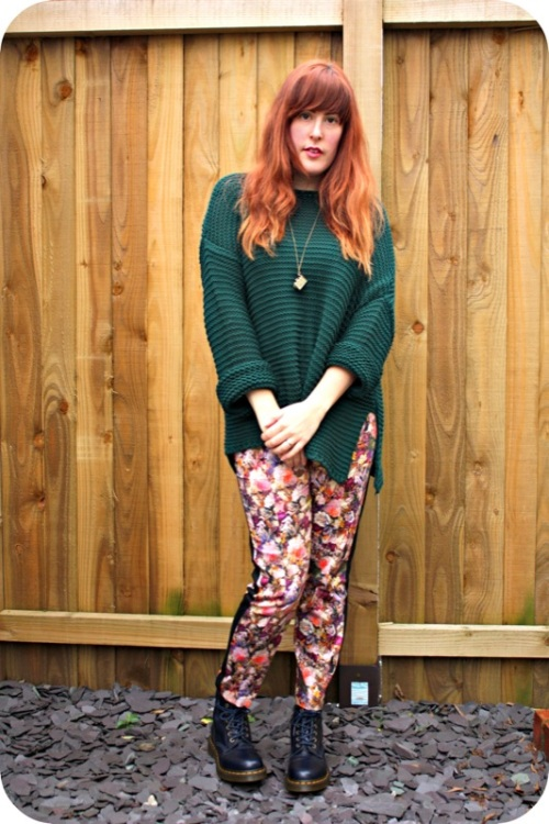 Zara jumper and Dr Martens | SHip-Shape and Bristol Fashion