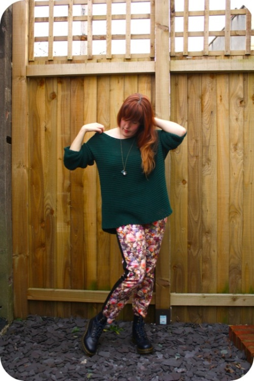 Zara jumper and Topshop trousers | Ship-Shape and Bristol Fashion