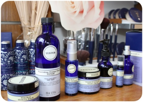 Neal's Yard Remedies mini facial | Ship-Shape and Bristol Fashion