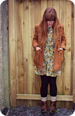 River Island dress and Topshop coat | Ship-Shape and Bristol Fashion