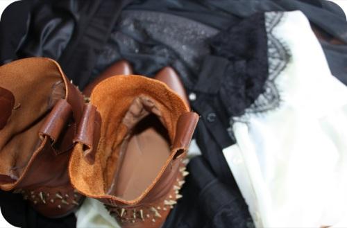Zara studded cowboy boots   Ship-Shape and Bristol Fashion