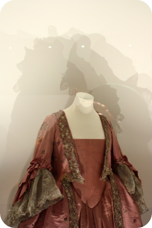 Costume shadows at Bath Fashion Museum | Ship-Shape and Bristol Fashion