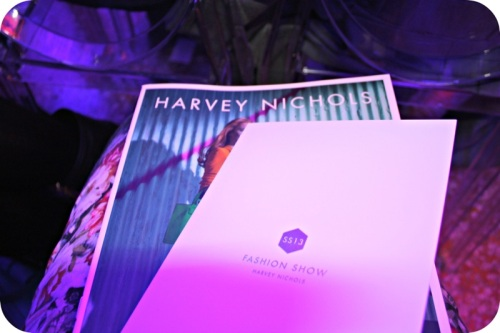 Harvey Nichols SS13 show