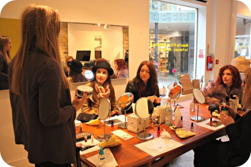 Make up tutorials at Little Lab, Milsom Place
