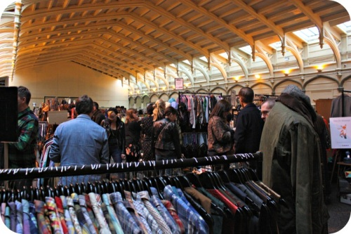 Vintage Fair at Bristol's Passenger Shed | Ship-Shape and Bristol Fashion