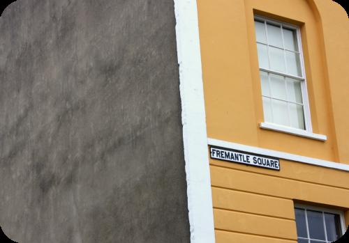 Fremantle Square street sign   Ship-Shape and Bristol Fashion