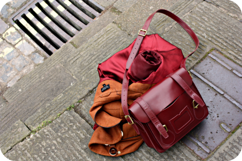 Topshop coat and Dr Martens leather satchel   Ship-Shape and Bristol Fashion