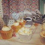 Pearly King Cakes cupcakes