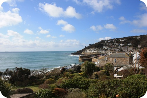 Mousehole, Cornwall - the view from our bedroom