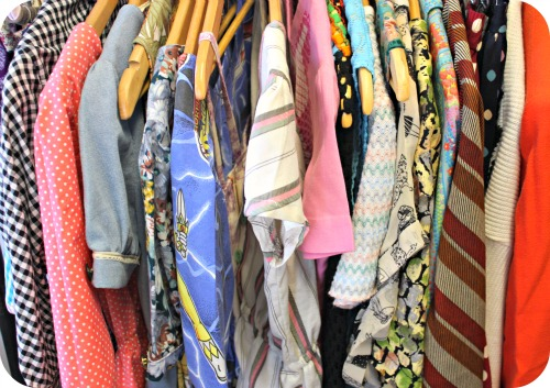 Vintage clothes at Magpies & I