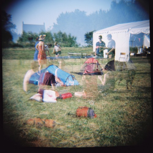 Weekend camping Lomo style