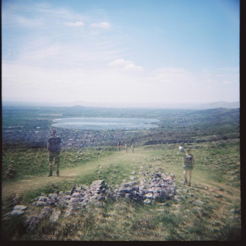 Double exposure attempt at Cheddar Gorge