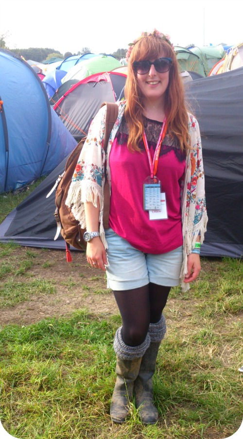 Festival fashion at Glastonbury