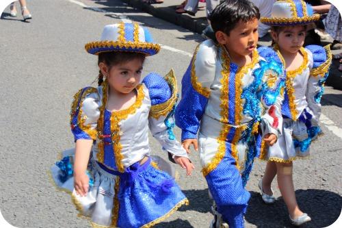 St Pauls Carnival parade kids