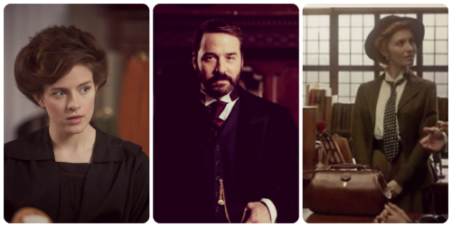 Mr Selfridge collage - Agnes Henry Valerie