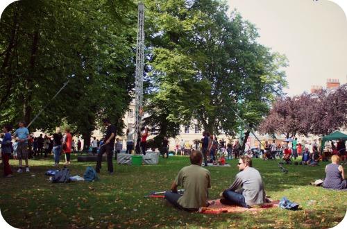 Circomedia event at Portland Square