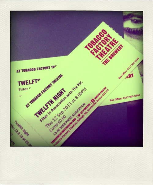 Tobacco Factory Theatre tickets for Twelfth Night