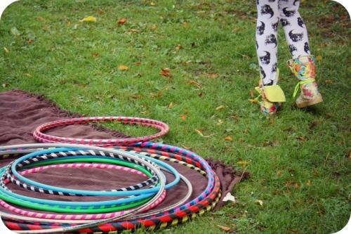 Hula-hoops at Circomedia Sunday Best event