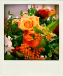 Rock The Week wedding flowers