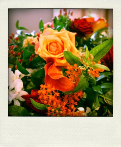 Rock The Week wedding flowers