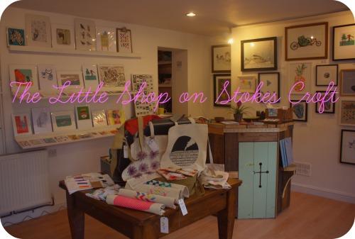The Little Shop on Stokes Croft