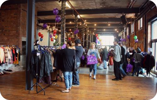 Inside Judy's Bristol Vintage Kilo Sale