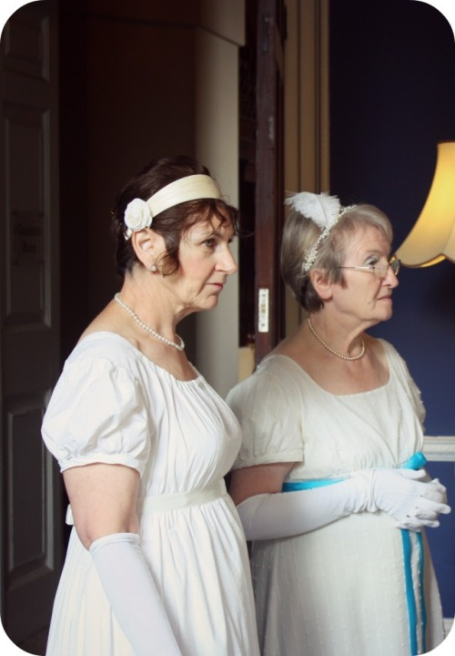 Jane Austen dancers at Kingsweston House