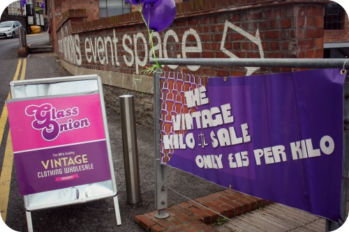 Judy's Vintage Kilo Sale at Bristol Paintworks
