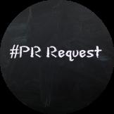 PR Request hashtag