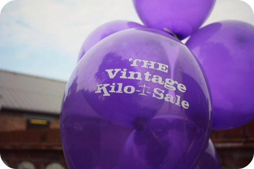 Vintage Kilo Sale balloons