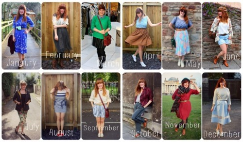 What I wore in 2013