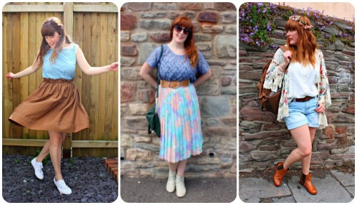 Outfit posts from April, May and June